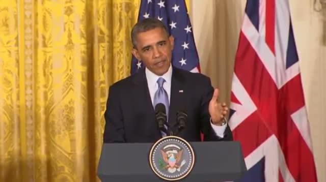 Obama Slams IRS Targeting, Defends Libya Effort