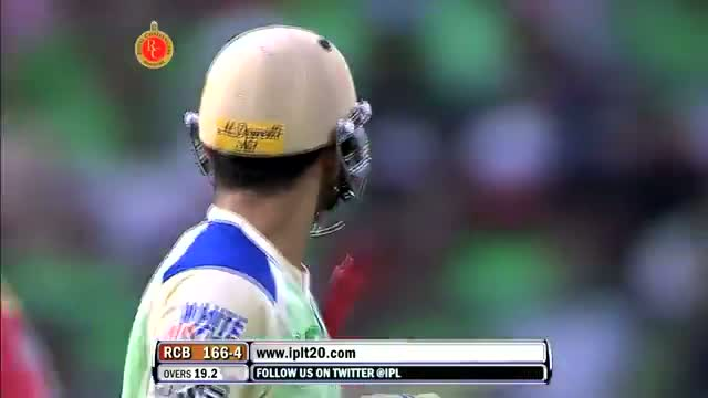 Wickets - RCB vs KXIP - PEPSI IPL 6 - Match 63