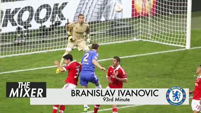 Chelsea vs. Benfica: Branislav Ivanović's Header Wins Europa League For Blues - The Mixer