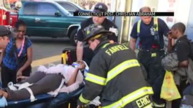 Conn. Commuter Trains Collide; 60 Go to Hospital