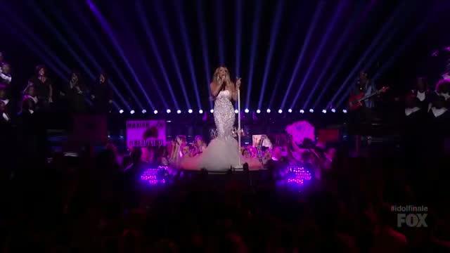 Mariah Carey Performs Live! - AMERICAN IDOL SEASON 12