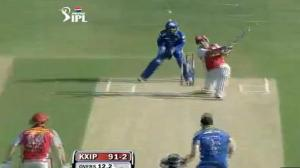 Azhar Mahmood Outstanding Batting (1st Inning) - KXIP vs MI - PEPSI IPL 6 - Match 69
