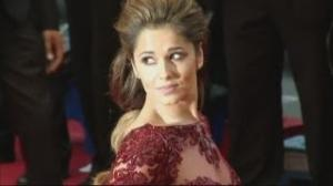 Cheryl Cole at Cannes Film Festival 2013: Chezza stuns in maroon dress at Cannes