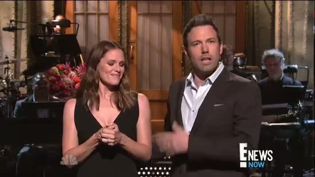 Affleck and Garner Poke Fun at Their Marriage