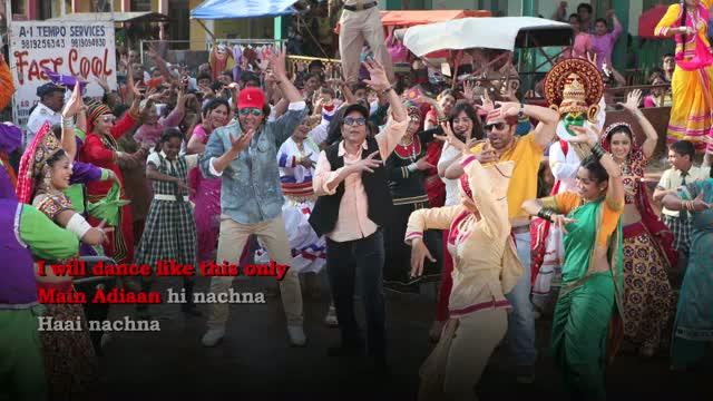 Main Taan Aidaan Hi Nachna - Full Song with Lyrics - Yamla Pagla Deewana 2