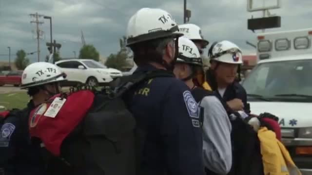 Crews Search for Survivors of Okla. Tornado