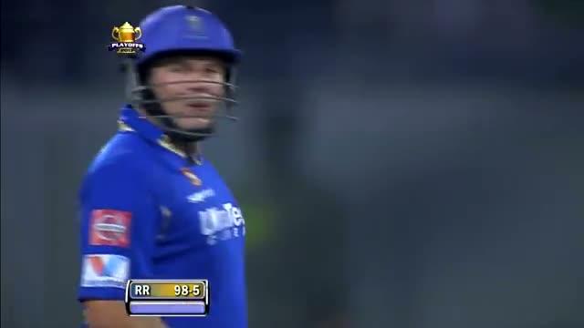 Hodge's blitzkrieg drives Rajasthan to Win: Man of the Match - SH vs RR - PEPSI IPL 6 - Eliminator Match