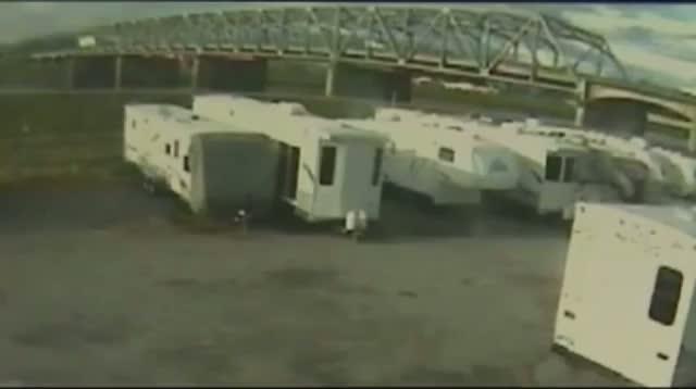 Trucker Bumps I-5 Bridge Before Collapse
