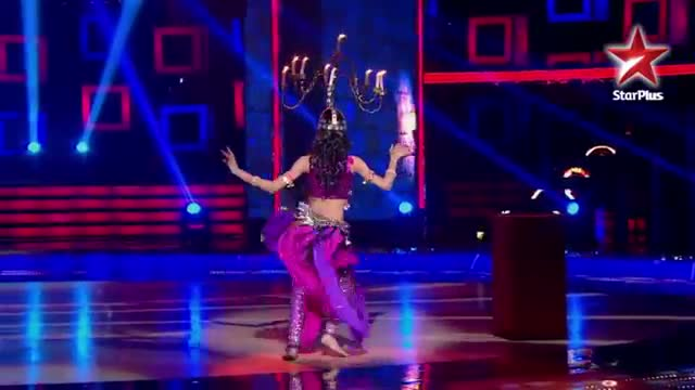 India's Dancing SuperStar - Ep 9 - Belly dance by Alex