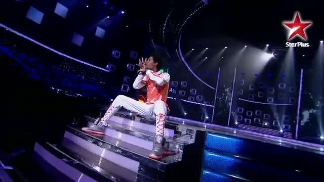 India's Dancing SuperStar - Ep 9 - Entertaining act by Abhishek Thewar