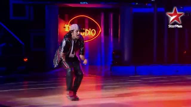 India's Dancing SuperStar - Ep 10 - Baiju's locking and popping
