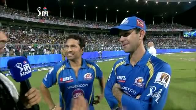 Sachin Tendulkar retires from IPL - MI vs CSK - PEPSI IPL 6 FINAL