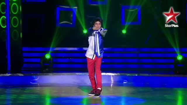 India's Dancing SuperStar - Ep 10 - Ankit's locking and popping