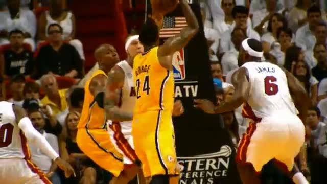 NBA: Phantom - Paul George BIG Slam on Birdman