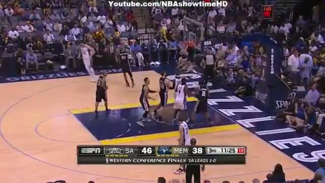San Antonio Spurs Vs Memphis Grizzlies (Full Highlights) - May 27, 2013 - Game 4 - NBA West Finals