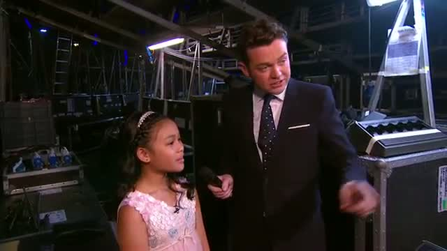 Stephen Mulhern chats with semifinal winners - Semifinal 1 - Britain's Got More Talent 2013