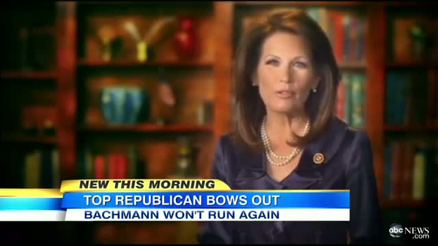 Michele Bachmann Won't Run for Re-Election: Minnesota Rep., Tea Party Star Announces in Video