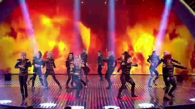 MD dance troupe strut their stuff - Semi-Final 2 - Britain's Got Talent 2013