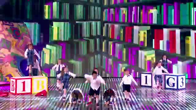 Preskool dance troupe Get Ready to Rhumble! - Semi-Final 3 - Britain's Got Talent 2013