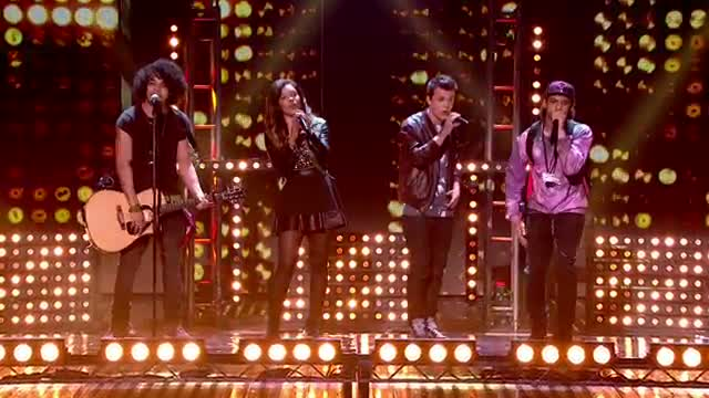 Luminites sing Beegees's 'To Love Somebody' with a twist - Semi-Final 3 - Britain's Got Talent 2013