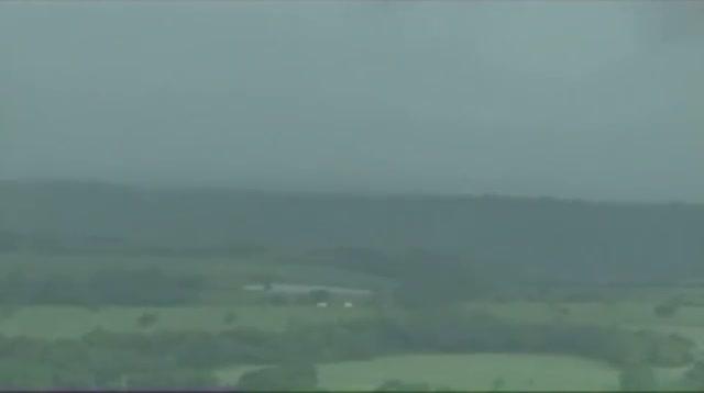 Tornado Touches Down in Ripley, Oklahoma