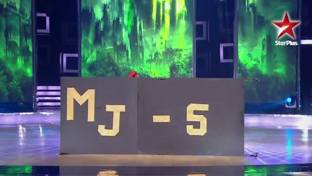 India's Dancing SuperStar - Ep 11 - MJ 5 performs locking and popping