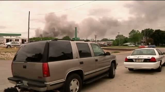 Illinois Town Evacuated After Chem. Plant Fire