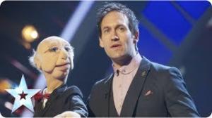 Steve Hewlett is the Puppet Master - Semi-Final 5 - Britain's Got Talent 2013