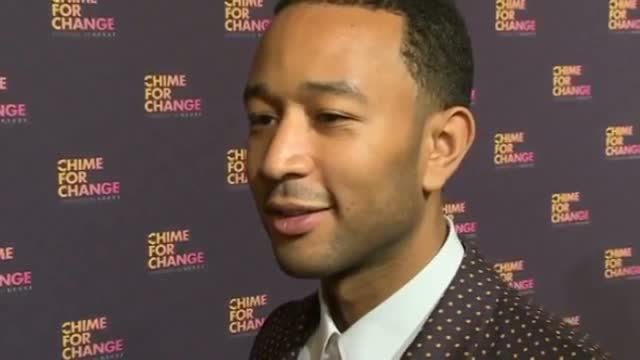 John Legend talks Chime For Change, Twitter spats and British music