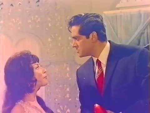 Hum Saya Romance On Telephone Scene - Joy Mukherjee, Mala Sinha, Sharmila Tagore