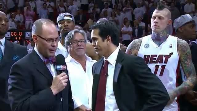 NBA: Miami Heat are Eastern Conference Champions!