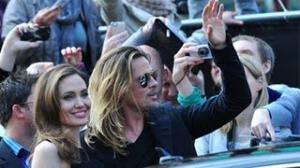 Angelina Jolie and Brad Pitt Attend World War Z Premiere - Red Carpet