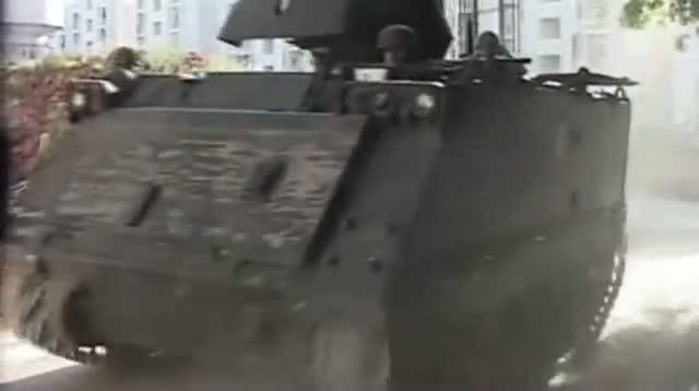 Masked Gunmen Battle in Tripoli's Streets
