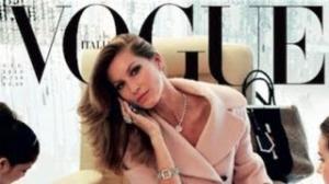 GISELE BUNDCHEN Shows Off Her Backside For Vogue Italia!