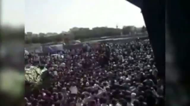 Iran Dissident's Funeral Sparks Protest
