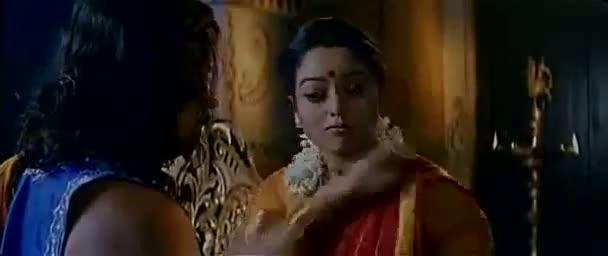 Actress Soundarya Bed Room Scene