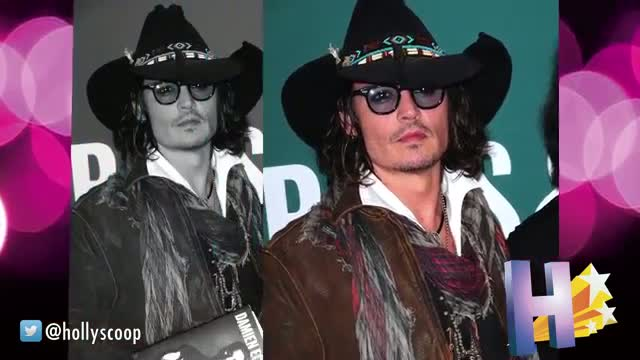 Johnny Depp Shows Up To Children's Hospitals In Jack Sparrow Costume