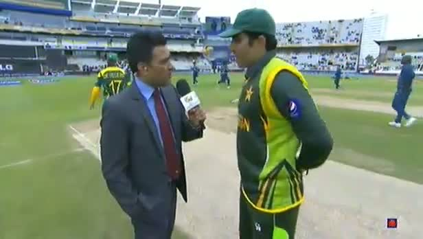PAKISTAN Vs SOUTH AFRICA - ICC Champions Trophy 2013 - SA wins toss, Elects to Bat - 10/6/2013