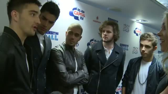 The Wanted at Capital Summertime Ball: The Wanted reunite and chat about new reality show backstage
