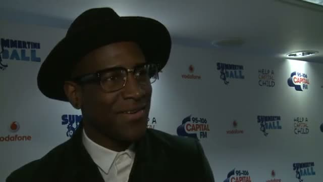 Labrinth at Summertime Ball: Labrinth on the BGT egging and summer plans