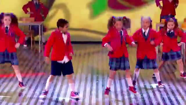 Pre-Skool rule the playground with their dance moves - Final 2013 - Britain's Got Talent 2013