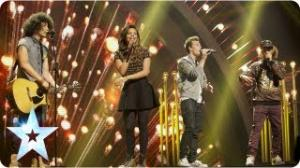 Luminites sing 'Hurt So Good' and sing it sooo good - Final 2013 - Britain's Got Talent 2013