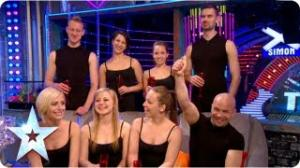 Attraction's winners chat with Stephen and BGMT crew - Final 2013 - Britain's Got More Talent 2013