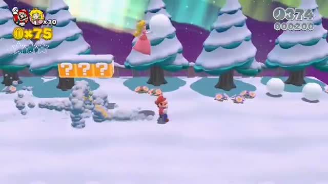 Wii U - Super Mario 3D World E3 Trailer