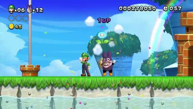 Wii U - New Super Luigi U E3 Trailer