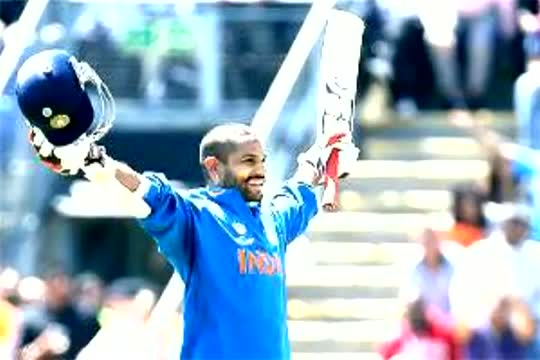 Shikhar Dhawan 102 Off 107 Balls - India vs West Indies - ICC Champion Trophy 2013 (11-6-2013) Highlights
