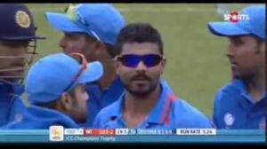 Sir Ravindra Jadeja 36-5 Vs West Indies - India vs West Indies - ICC Champion Trophy 2013 (11-6-2013) Highlights