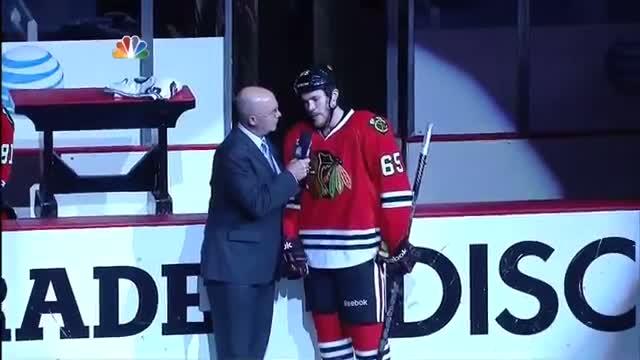Andrew Shaw (5) - Overtime Game Winner (3OT) Boston Bruins 3 Chicago Blackhawks 4 June 12th 2013