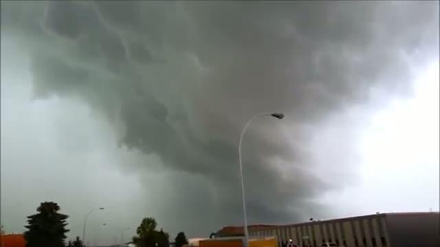 Edmonton Tornado Warning 2013