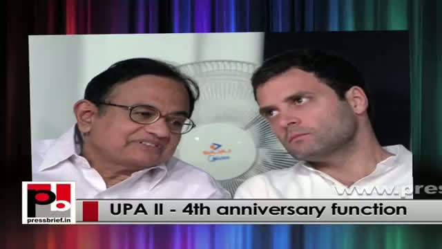 Release of UPA II report card by PM, Sonia Gandhi at 4th anniversary function